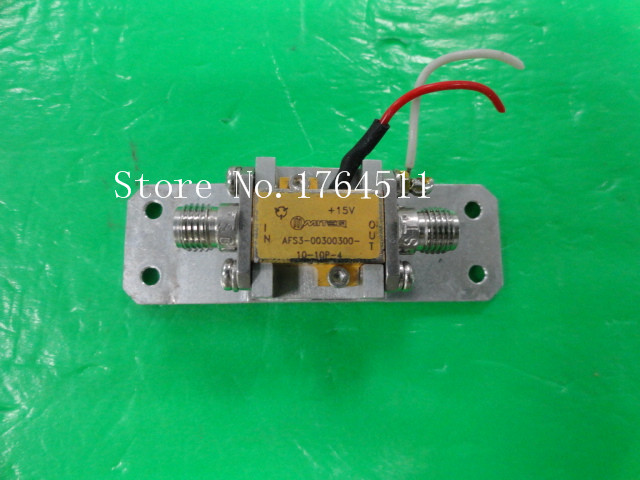 [BELLA] MITEQ AFS3-00300300-10-10P-4 0.3-3GHZ 10dB 15V RF Amplifier