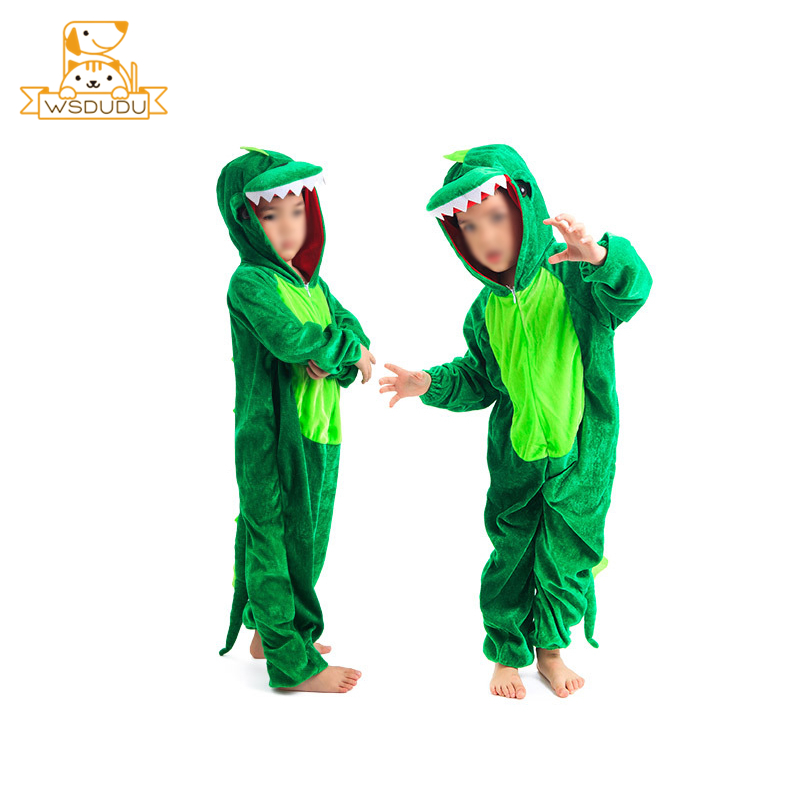 Cute Dinosaurs Clothing Fluffy Costume Plush Stuffed Animals Dolls For Children Gifts Cosplay Baby Summer Winter Kawaii Clothes