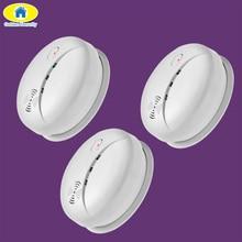Golden Security 433mhz  Sensitive Cordless Smoke Detector sensor  Home Security System Wireless Fire Sensor