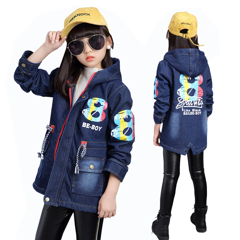 Baby Boys Girls Velvet Thick Denim Jacket 2018 New Winter Children's Baby Cowboy Cotton Jacket Girls Clothes Thicken Coat цены