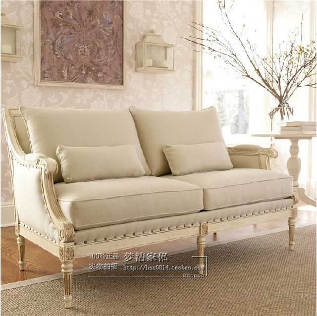 Attirant Simple Wood Carved French Neoclassical Sofa Sofa American Casual High End  Clubs Furniture Chair