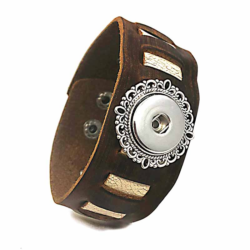 USD 18mm Leather Button