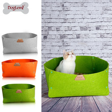 New Arrival DogLemi 2 IN 1 Nature Pet Bed Dog Blanket Green Gray Orange 3Colors Eco-Friendly Animaux