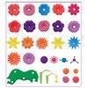 54Pcs DIY Flower Building Block  Bouquet Girls Gift Interconnecting Blocks Toys Educational Creative Pretend Play Toys discount