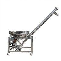 HZSL B Height All Fill Sanitary Inclined Portable Screw Conveyor Powder Feeder