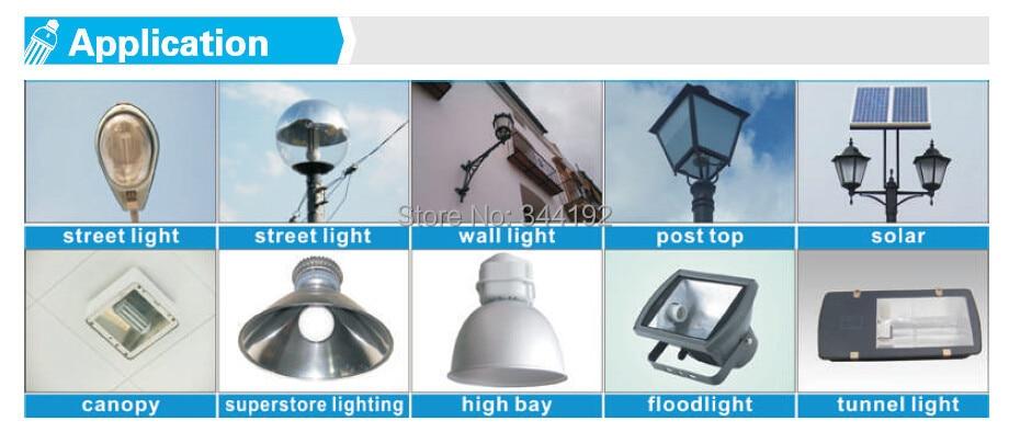 Costo di Trasporto libero 120 w LED Del Cereale Della Lampada Bianco/Bianco Caldo Risparmio energetico luce di via ha condotto la luce giardino utilizzato per SMD 5730 - 5
