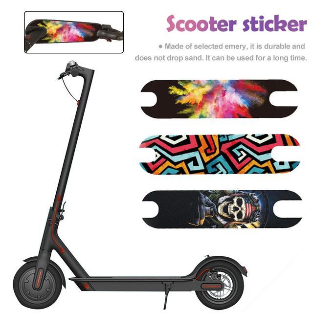 New Pedal Matte Mat Sticker Waterproof Sunscreen Personalized Sandpaper Scooter Sticker For Xiaomi M365 Electric Scooter Sticker