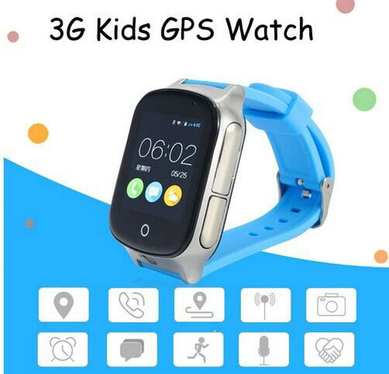 A9 3G Smart GPS Tracker Watch Elderly Kids Wristwatch WIFI Locator With Camera Voice Message SOS Free APP IOS Android Phone android 5 1 smartwatch x11 smart watch mtk6580 with pedometer camera 5 0m 3g wifi gps wifi positioning sos card movement watch