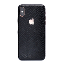 Phone Sticker For iPhone Xs Max Xr X Xs 6 7 8 6S 7/8 Plus Alligator Snake Honeycomb Stone Diamond Texture PVC Skin Sticker
