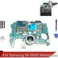 Desbloqueado original para samsung galaxy s4 i9505 motherboard placa lógica com batatas fritas + ferramentas