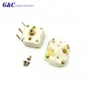 Image 2 - 2 Pcs Stile 223F Dual 20pF Condensatore Variabile per la Radio FM