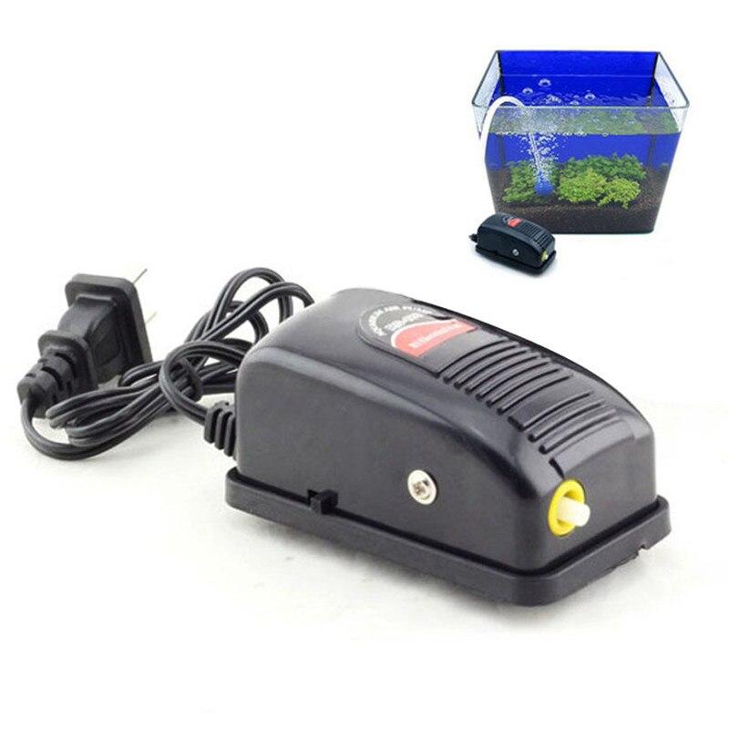 10pcs/lot Blue Plastic 2 Way Aquarium Air Pump Control
