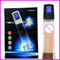 2016 Hot Automatic Electronic Vacuum Penis Pump Enlargement Device Penis Stretcher Extenders LCD Display Sex Erotic Toys For Men