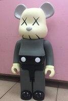 1000% 70 см Kaws Млечный девушка Мышь COS Пеко Fujiya Bearbrick медведь @ кирпич ПВХ фигурку игрушки Книги по искусству работы отличный подарок для друзей