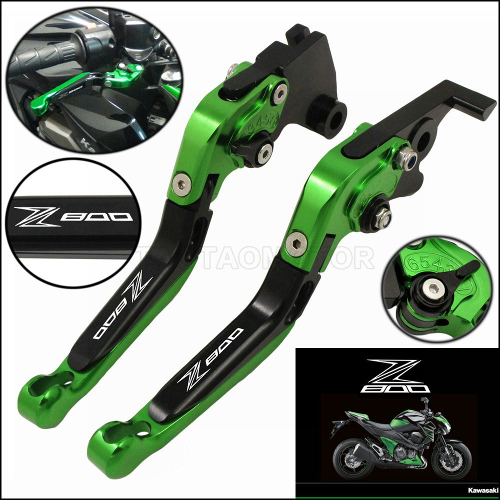 Levers Clutch Brakes Folding Adjustable Kawasaki CNC Aluminum KING for CATTLE CK