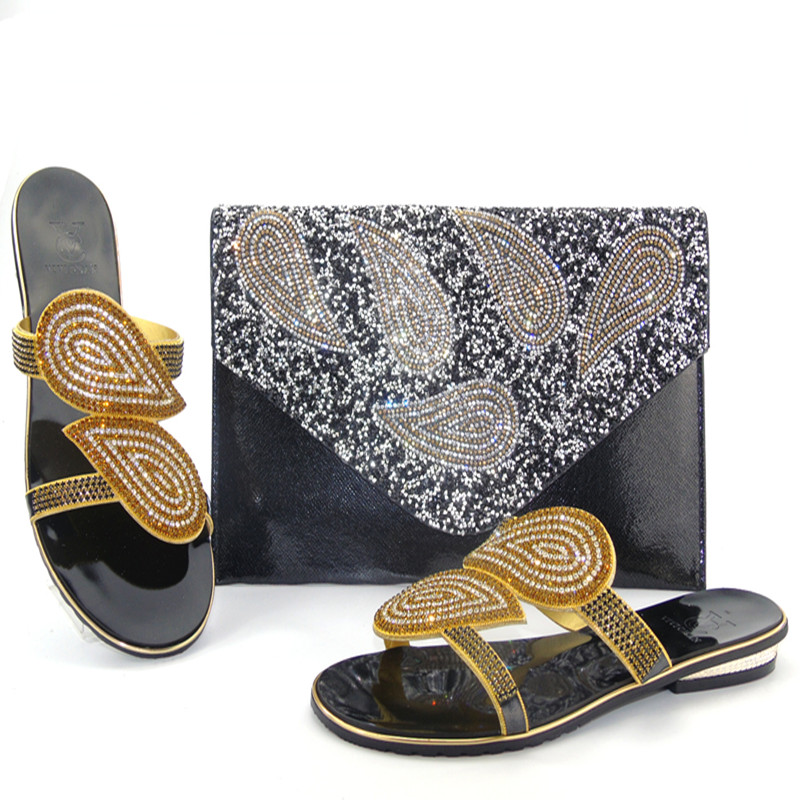 ФОТО Italian Matching Shoes and Bag Set Italy Shoe and Bag Set High Quality Women Shoe and Bag To Match for Party lu1-11