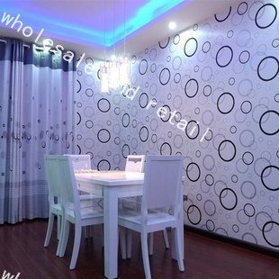 Free shipping Wall paper PVC Background wallpaper Embossing Wallpapers Setting wall 0.53*10m