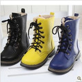 Thermal Warm plus Velvet children Snow Boots Boys and Girls Laredo lace up Boots 2016 Winter  xz913