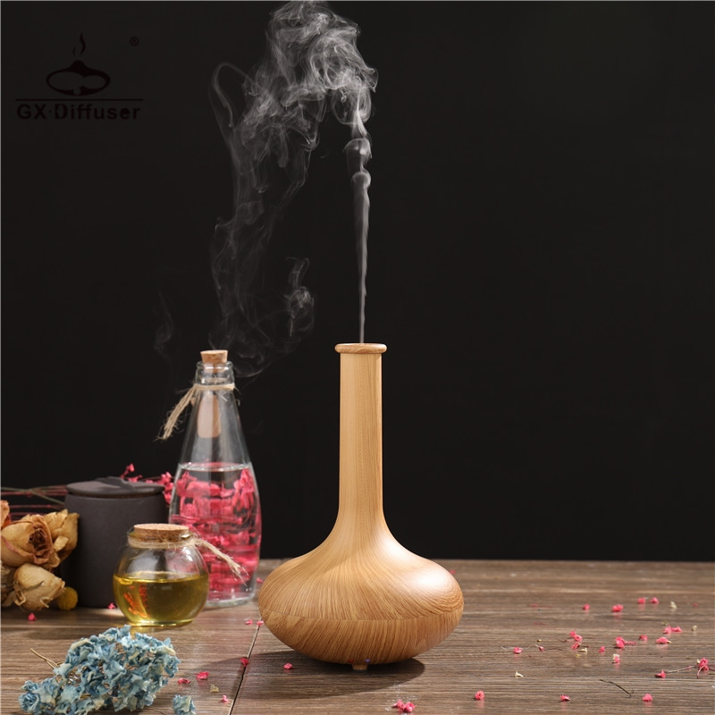 GX Diffuser Electric Ultrasonic Aroma Air Humidifier Aromatherapy Essential Oil lamp For Home