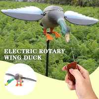 3DHunting Decoy Duck with Magnet Spinning Wings Remote Control Simulation Duck Electric Rotary Wing Duck Hunting GardenDecoratio