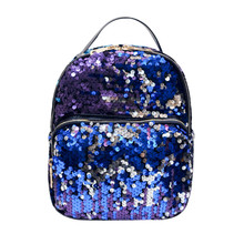 2017 Популярные Модные женские школьный стиль пайетки Путешествия сумка Школа сумка рюкзак сумка подарок Оптовая A3000
