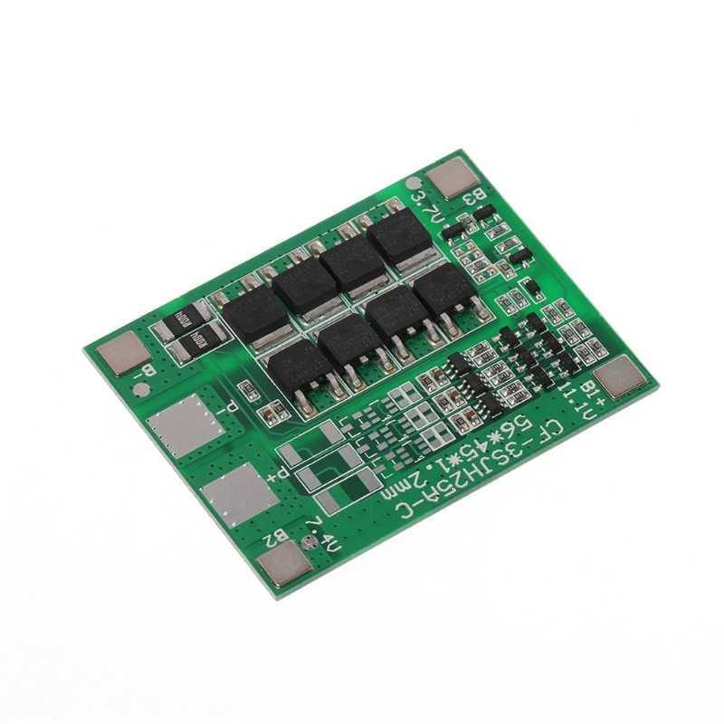 30A 3 S Carregador de Bateria de Polímero de Lítio Protecção Bordo 3 Serial 12V 3pcs 18650 3.7 Li-ion De Carga Proteger módulo