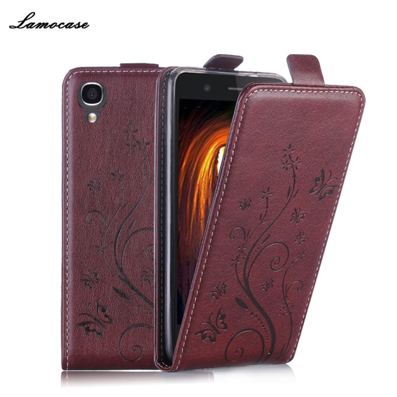 """Butterfly Painted Photo Frame For Alcatel One Touch Idol 3 4.7"""" 6039 Leather Cover Flip Vertical Phone Bags & Cases For idol 3"""