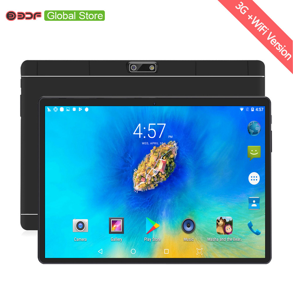 Tablet Pc Warehouse Ships Mobile-Phone Android 10inch 4GB Call-Octa FM 64GB LCD Core-Wifi title=
