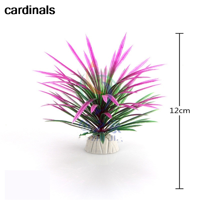 PVC Aquarium Decorative Simulation Artificial Daffodil Plant Environmental Protection Materials Aquarium Decorative Accessories(China)