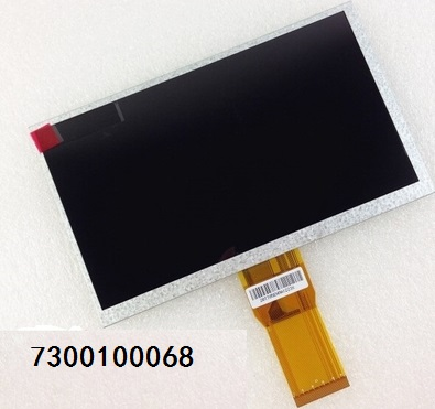 7300100068 7 inch tablet LCD screen 165MM*100MM*3MM free shipping