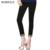Burdully alta qualidade verão mulheres formais calça casual 2017 algodão fino lápis calças calças de trabalho de escritório elegante longo plus size
