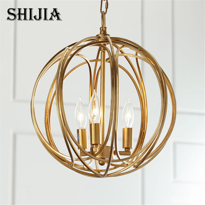 Pendant Lights American Country Lamps Vintage Lighting for Living room Restaurant Bedroom Cafe Meeting Room american country garden simple pendant lights dining room living room bedroom lighting country style garden cloth lu815300