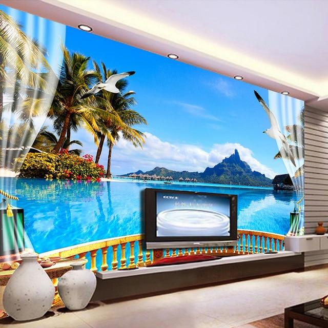 Custom Photo Wall Paper 3d Wall Painting Living Room Bedroom Tv