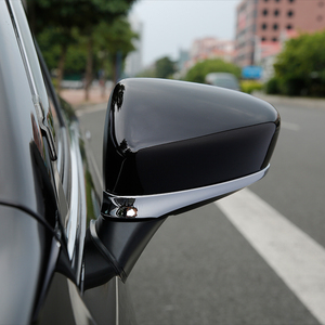 Image 5 - For Mazda 6 Atenza GJ 2013 2014 2015 2016 2017 Chrome Rear View Side Door Mirror Cover Trim Strip Molding Decoration Car Styling