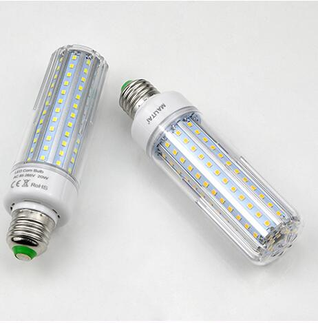 110V 220V E27 No Flicker LED light led lamp 2835 SMD LED Corn Bulb 5W 10W 15W 20W Lampadas