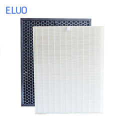 H12 Hepa and carbon filter for air purifier Sharp FU-888SV  FU-P60S  FU-P40S  FU-40SE FU-4031NAS to filter PM2.5,dust