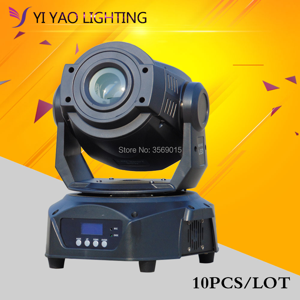 Commercial Lighting Cheap Sale 10pcs/lot Spot Moving Head 90w Led Stage Light Dj Lighting For Home Garden Party Wedding Effect Lights & Lighting