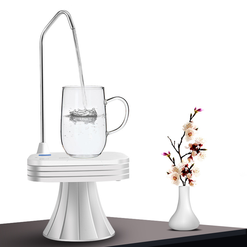 Electric Water Dispenser Rechargeable Bottled Water Pumping Household Pure Bucket Water Pressure Wireless Water Pump Popular