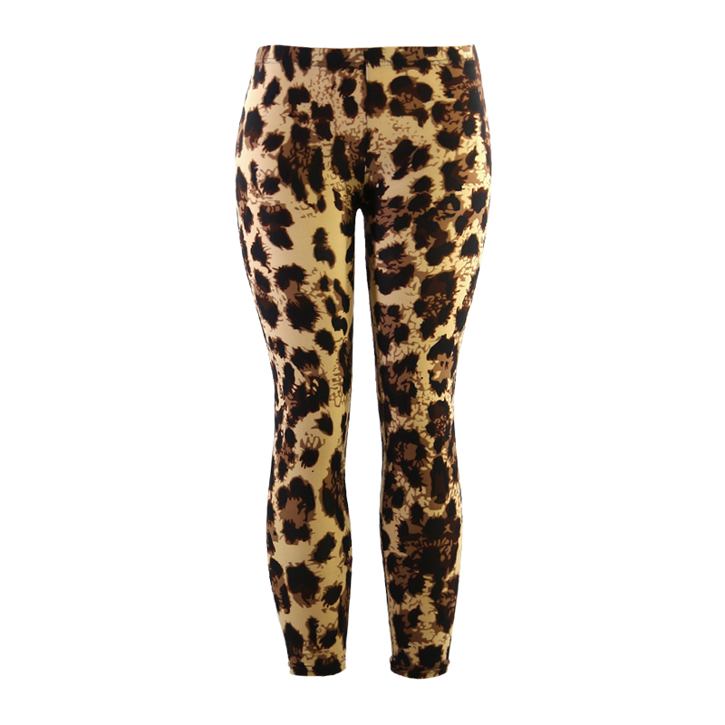 Diplomatisch Yesello Sommer Mädchen Legging Spandex Aptitud Print Leopard Leggings Leggins Milch Seide Frauen Hosen Tetris Kleidung Im In Und Ausland FüR Exquisite Verarbeitung Gekonntes Stricken Und Elegantes Design BerüHmt Zu Sein
