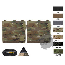 "Emerson AVS 6"" x 6"" Side Armor Carrier Set EmersonGear Soft Insert for Crye Precision JPC, CPC, NCPC Harness Plate Carrier Vest(China)"