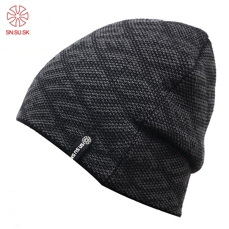 Winter Warm Wool Snowboard Knit Skating Lot Wool Caps Brand Ski Hats   Skullies     Beanies   For Men Women Gorros De Lana