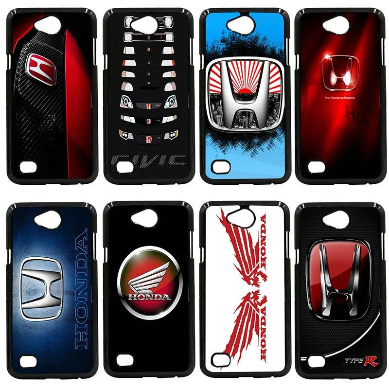 Cool Car Honda H Wing Logo Phone Cases Hard Cover For LG L Prime G2 G4 G5 G6 G7 K4 K8 K10 V20 V30 Nexus 5 6 5X Pixel Shell