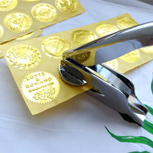 Hot customize Embossing stamp with your logo,Personalized Embossing Seal for Letter head Wedding Envelope Gaufrage Stamp