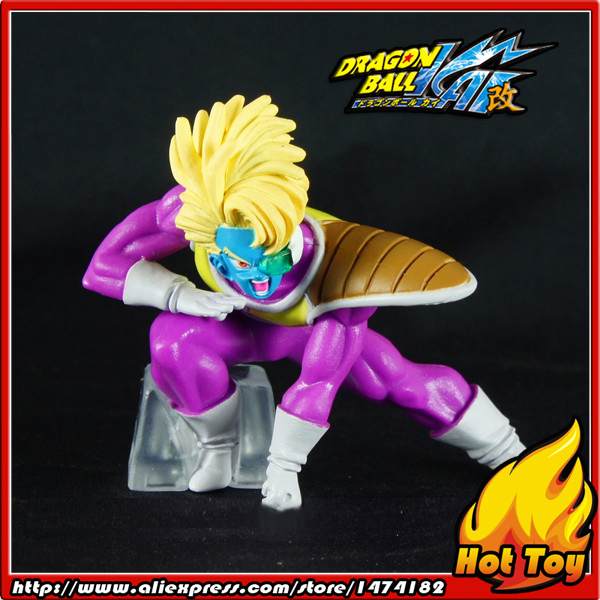 100% Original BANDAI Gashapon PVC Toy Figure HG Part 21 - Salza / Sauzer from Japan Anime Dragon Ball Z