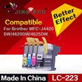 4 ШТ. совместимый картридж LC223 LC221 для Brother DCP-J4120DW/MFC-J4420DW/4620DW/4625DW/5320DW/5620DW/5625DW/5720DW принтера