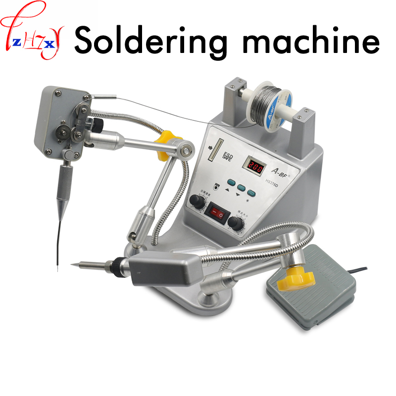 Precision digital foot automatic tin machine automatic soldering station machine adjustable tin speed soldering machine 24V