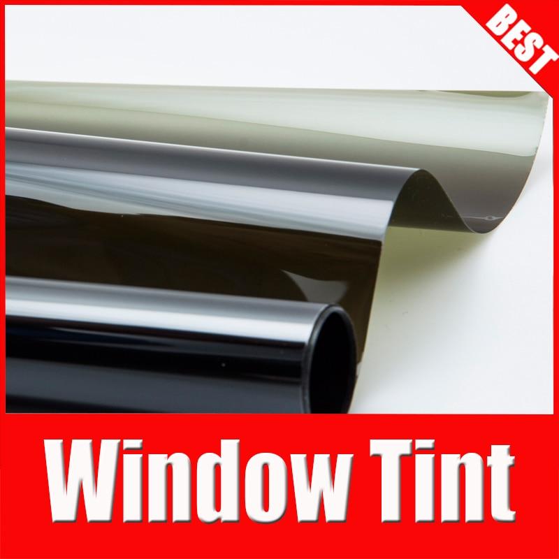 цены TSAUTOP 1.52*30 m high quality window tint film Window Foils & Solar Protection for car PET film HA-16