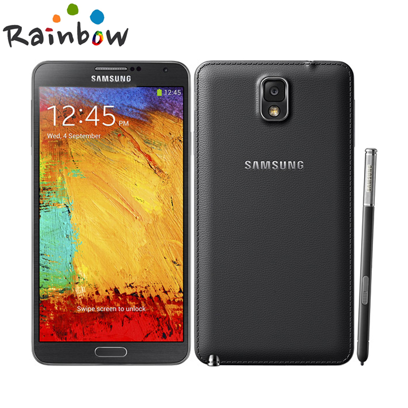 "Цена за 2016 Горячей Продажи Смартфона Samsung Galaxy note 3 N900 32 GB ROM 3 Г ОЗУ Android 4.2 Quad Core 13MP Камера 5.7 ""Экран Мобильного телефона"