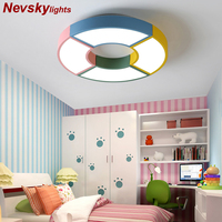 Multicolor LED Ceiling Lights In Windmill Shape For Living Room Lamparas de techo Bedroom Boys Room Ceiling lamp Rooms Luminare