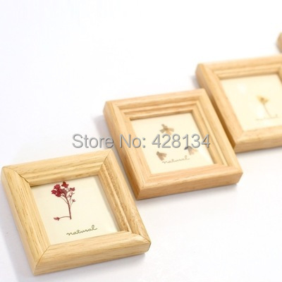 simple mini small wooden photo frame mini004 thumbnail frames best gifts to children wedding guests etc free shipping in frame from home garden on - Mini Frame